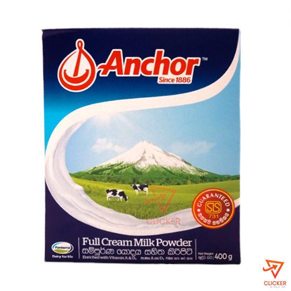 Clicker popular product 400g ANCHOR full cream milk powder 351
