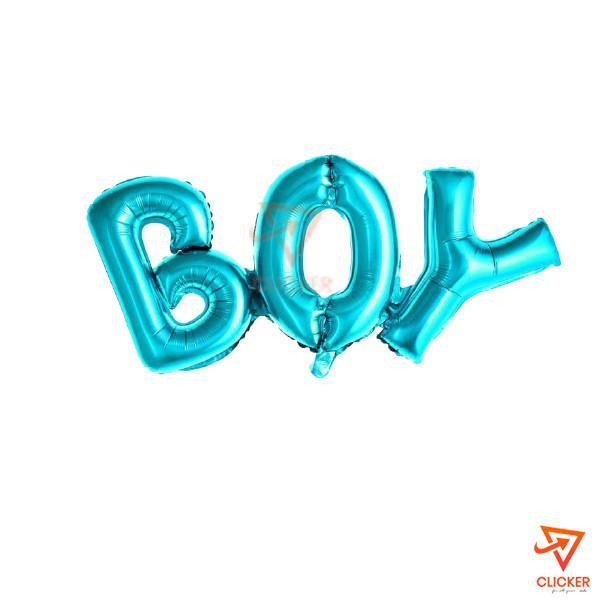 "Clicker new arrives ""BOY"" FOIL BALLOON THEME (12'') BLUE 2664"